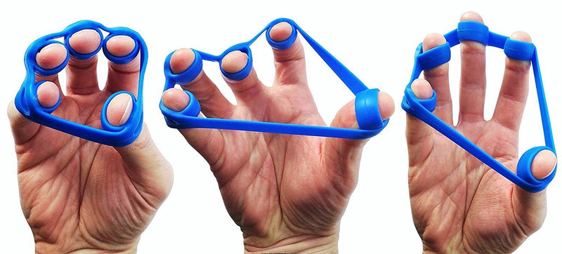Buy TnP Accessories Hand Finger Strength Exerciser - Dark Blue