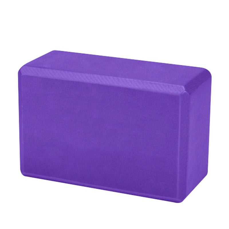 Buy Foam Yoga Brick Block Purple