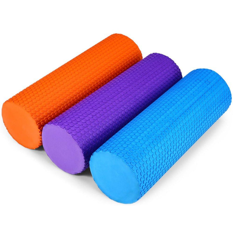 Buy EVA Foam Roller 32cm Yoga Pilates - Red