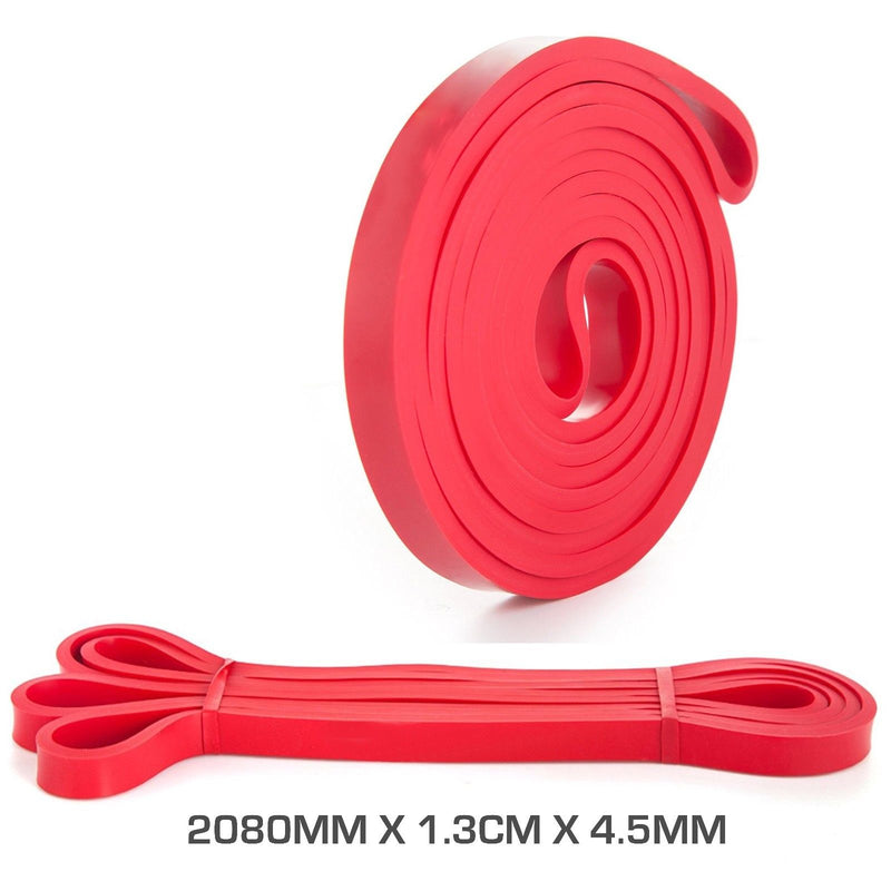 Buy Resistance Band 2080 X 1.3Cm X 4.5mm Red
