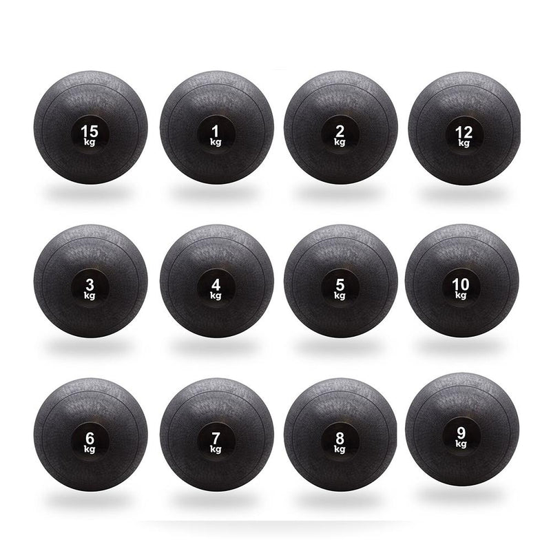 Buy TnP Accessories Slam Ball Black - 12Kg