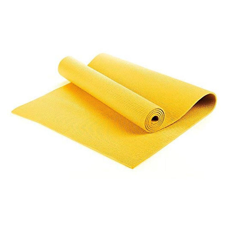 Buy TnP Accessories® 6mm Yoga Mats Soft Non Slip Exercise Mat - Yellow