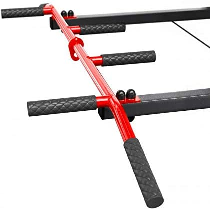 Buy TnP Accessories Wall Mounted Iron Chin Up Bar Black/Red