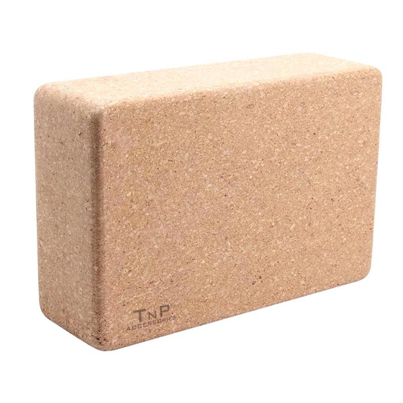 Buy Cork Yoga Block Yoga Brick with Firm Support