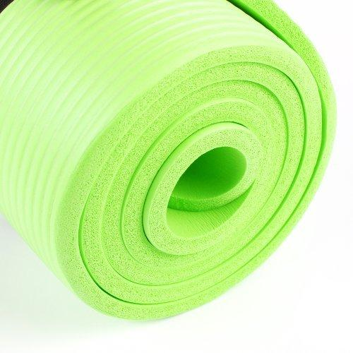 Buy TnP Accessories® NBR Foam Yoga Mat 15mm Thick LightGreen