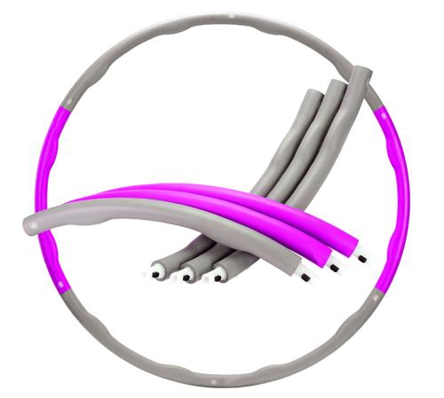 Buy TnP Accessories Foam Padded Weighted Hula Hoop - Purple