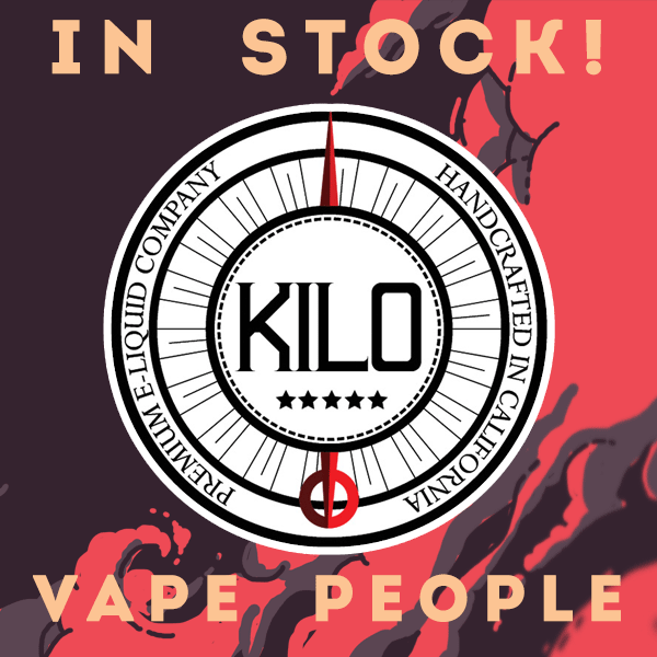 New Kilo e-liquids added to stock!
