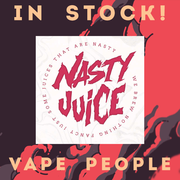 Nasty Juice is in stock!