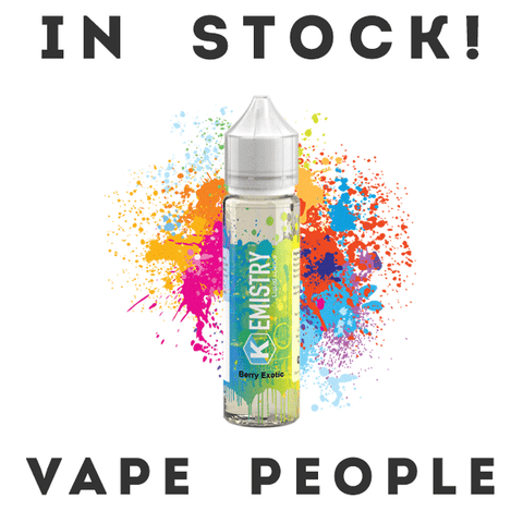 Kemistry Liquid Science 50 Shortfill e-juices are in stock - 10 flavours!