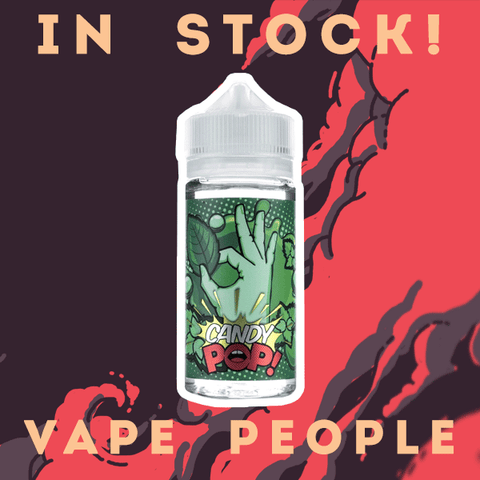 CandyPop 100 shortfill e-liquids are now in stock at just £19.99!