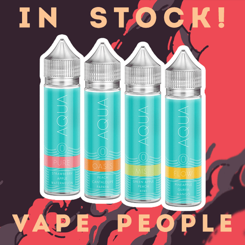 Marina Vape's Aqua 50ml short fill vape liquid is in stock!