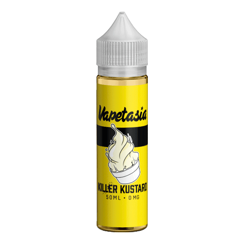 Vapetasia - (0mg, 3mg, 6mg) - 70%VG, 50ml Shortfill