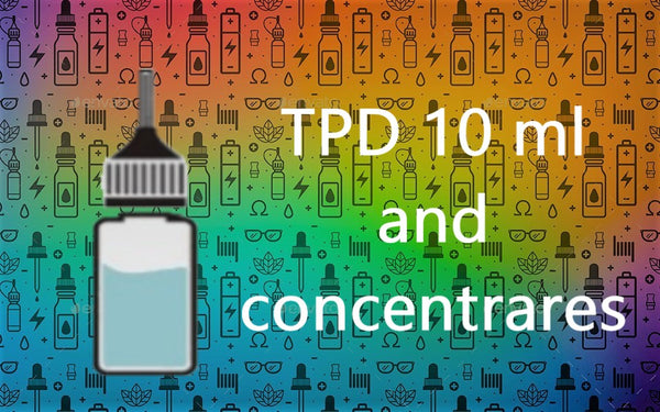 TPD 10ml and concentrates