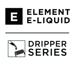 Dripper e-liquids by Element - (0mg, 1.5mg, 3mg, 6mg) - 80%VG, 100ml Shortfills