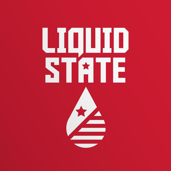 Liquid State e-liquids (0mg, 3mg, 6mg) - 70%VG, 10ml