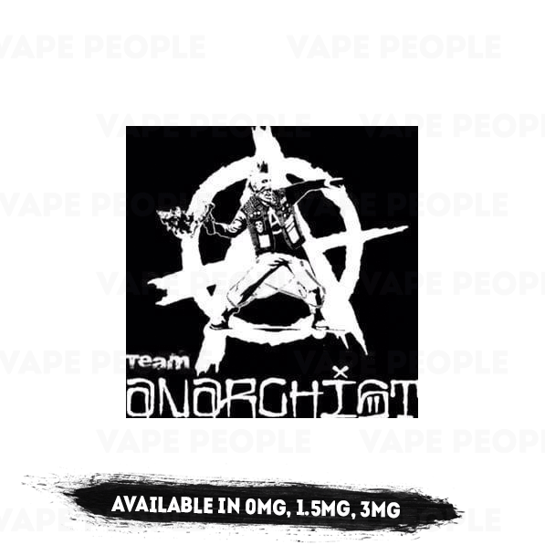 Anarchist e-liquids - (0mg, 1.5mg, 3mg, 6mg) - 70%VG, 100ml Shortfills