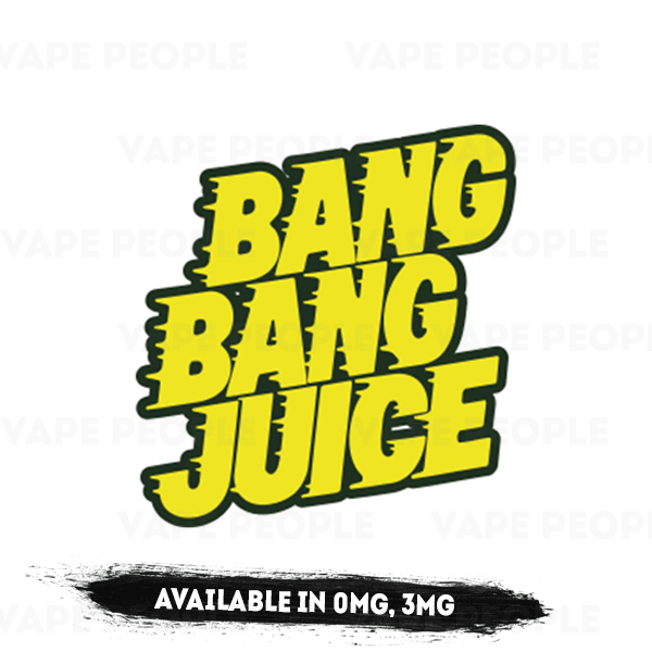 Bang Bang Juice (0mg, 3mg, 6mg) - 70%VG, 50ml Shortfills