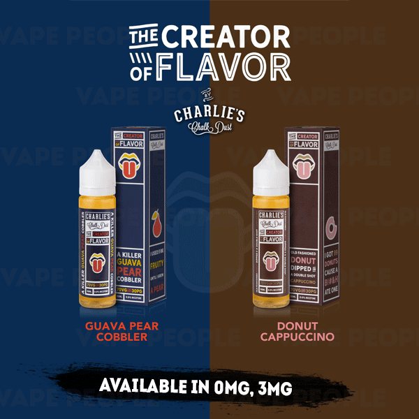 The Creator of Flavor vape liquids (0mg, 3mg) - 70%VG, 50ml Shortfills
