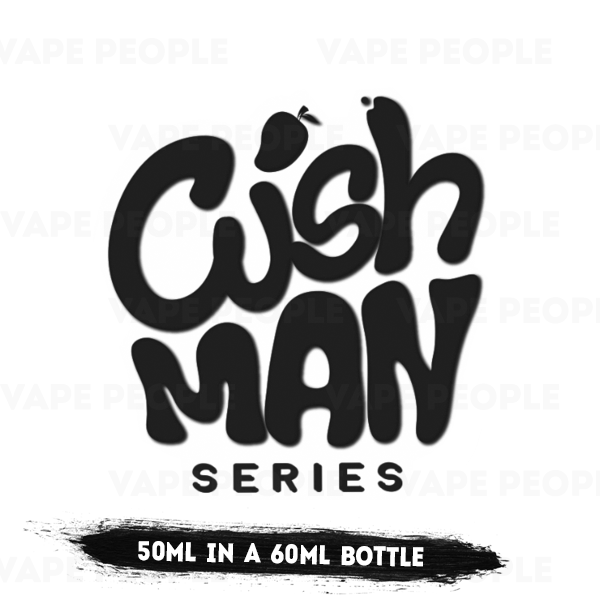 Cush Man vape liquid - (0mg, 3mg, 6mg) - 70%VG, 50ml Shortfills