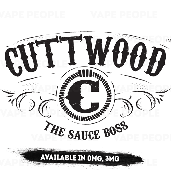 Cuttwood e-liquids (0mg, 3mg, 6mg) - 70%VG, 50ml Shortfills