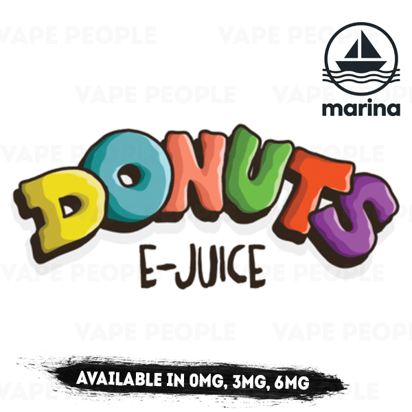 Donuts vape liquid - (0mg, 3mg, 6mg) - 70%VG, 50ml Shortfills