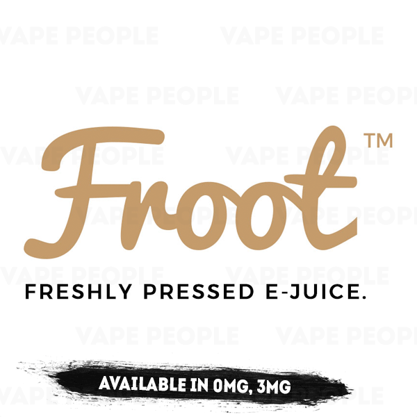 Froot e-liquids (0mg, 3mg, 6mg) - 70%VG, 50ml Shortfills
