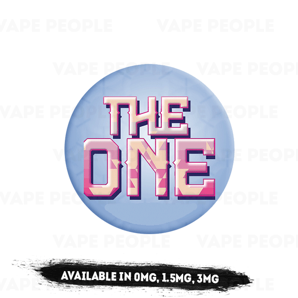 The One by Beard Vape Co. (0mg, 1.5mg, 3mg) - 70%VG, 100ml Shortfills