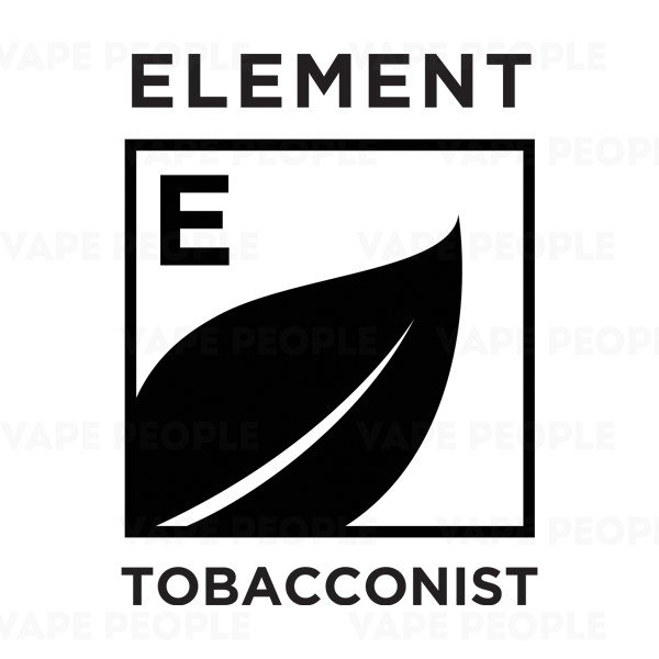 Element Tobacconist Dripper e-liquids (0mg, 3mg, 6mg) - MAX VG, 10ml