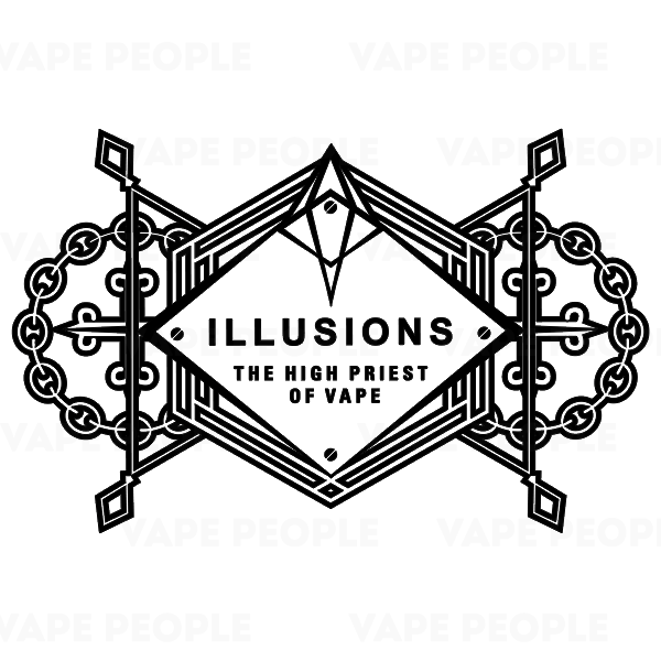 Illusions Vapor e-liquids (3mg, 6mg) - 80%VG, 10ml, 30ml, 50ml shortfills