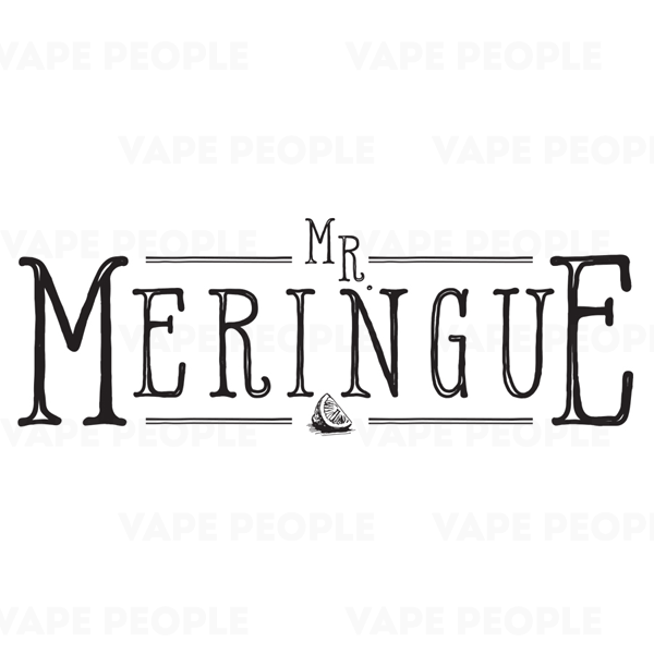 Mr Meringue e-liquids (0mg, 3mg, 6mg) - 70%VG, 10ml, 3 x 10ml, 50ml