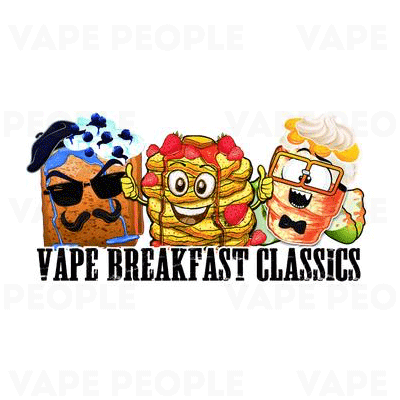 Vape Breakfast Classics (0mg, 1.5mg, 3mg, 6mg) - 80%VG, 50ml, 100ml Shortfills