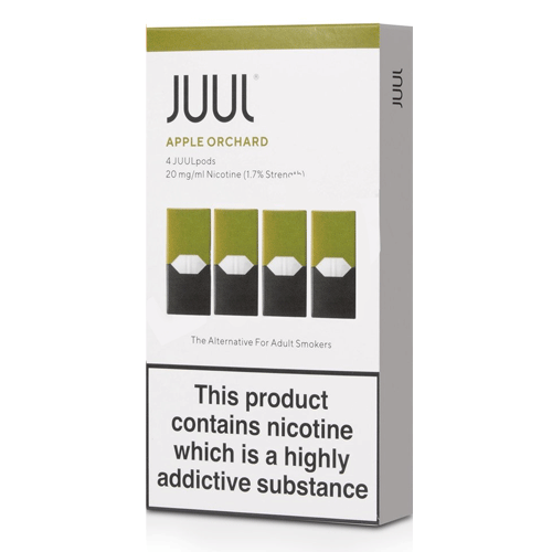 Apple Orchard vape liquid pods by Juul - 0.7ml x 4 - Best E Liquids