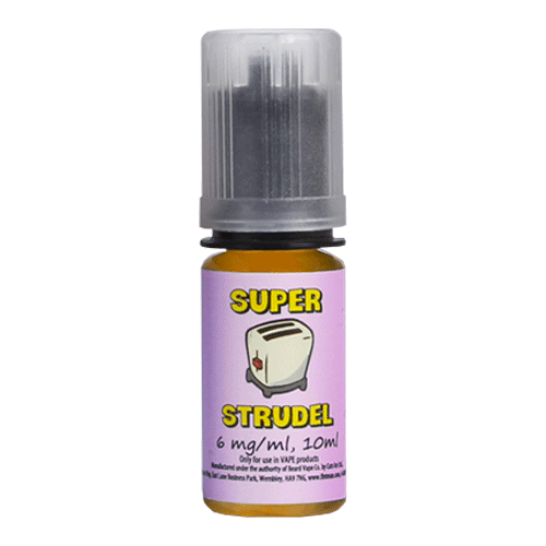 Blueberry vape liquid by Super Strudel - 10ml - Buy UK