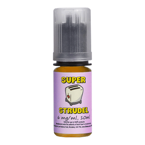 Blueberry vape liquid by Super Strudel - 10ml - eJuice