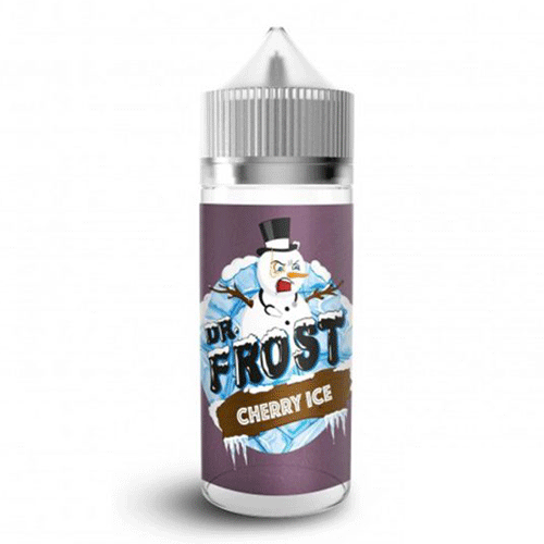 Cherry Ice vape liquid by Dr Frost - 100ml Short Fill - Buy UK