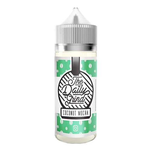 Coconut Mocha vape liquid by The Daily Grind - 100ml Short Fill - Buy UK