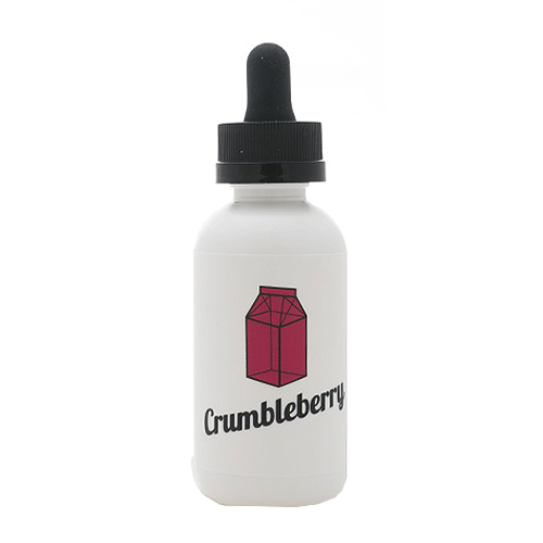 Crumbleberry vape liquid by The Milkman - 50ml Short Fill - Buy UK
