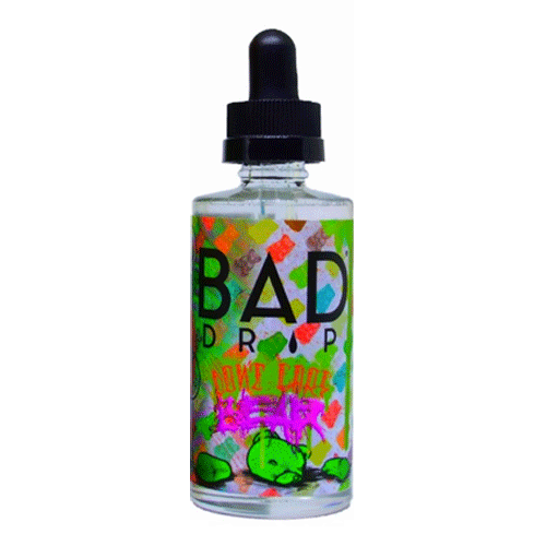 Don't Care Bear vape liquid by Bad Drip - 50ml Short Fill - Buy UK
