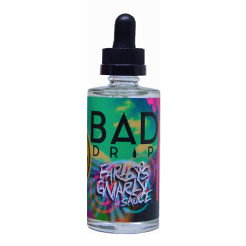 Farley's Gnarly Sauce vape liquid by Bad Drip - 50ml Short Fill - Buy UK