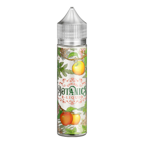 Gala Apple, Elderflower & Garden Mint vape liquid by Botanics - 50ml Short Fill - Buy UK