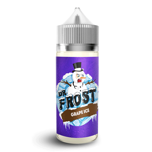 Grape Ice vape liquid by Dr Frost - 100ml Short Fill - Buy UK