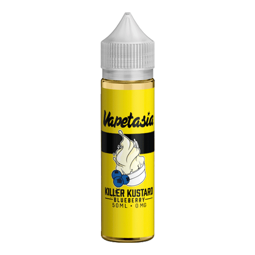 Killer Kustard Blueberry vape liquid by Vapetasia - 50ml Short Fill