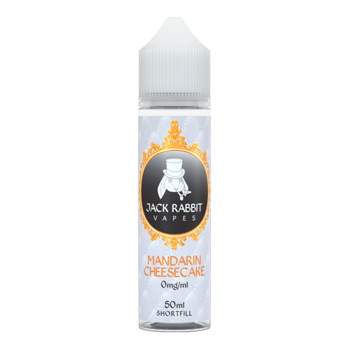 Mandarin Cheesecake vape liquid by Jack Rabbit Vapes - 50ml Short Fill