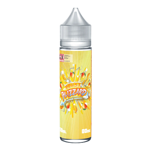 Mango Brrrst by Burst Blizzard - 50ml Short Fill - buy UK