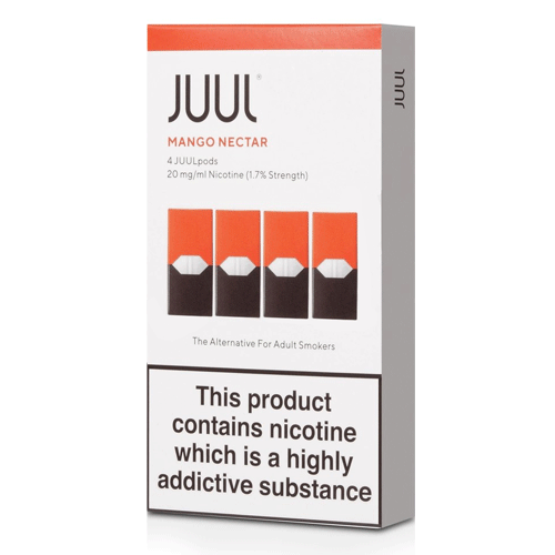 Mango Nectar vape liquid pods  by Juul - 0.7ml x 4