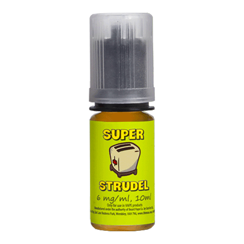 Mango Peach vape liquid by Super Strudel - 10ml - eJuice