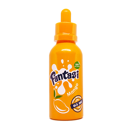 Mango vape liquid by Fantasi - 55ml Short Fill - eJuice