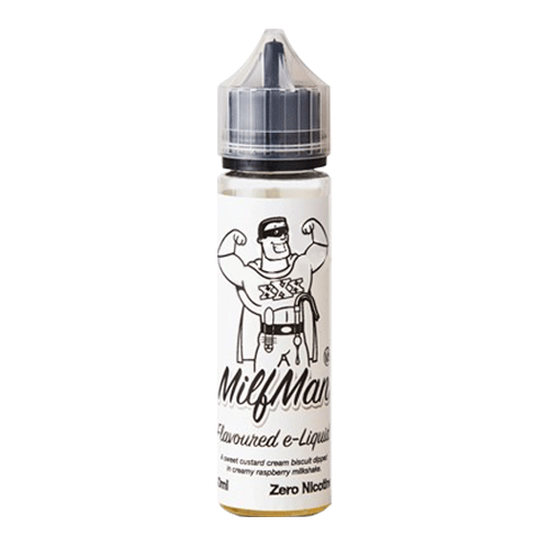 Milfman V2 vape liquid by Milkshake Range - 50ml Short Fill - eJuice