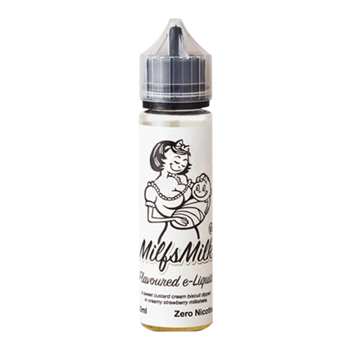 Milfsmilk V2 vape liquid by Milkshake Range - 50ml Short Fill - eJuice
