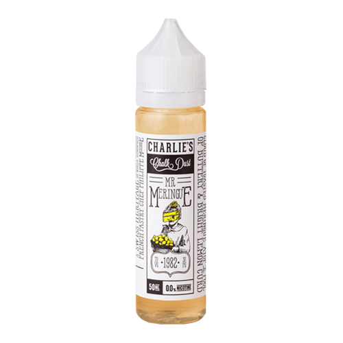 Lemon Pie vape liquid by Mr Meringue - 50ml Short Fill - eJuice